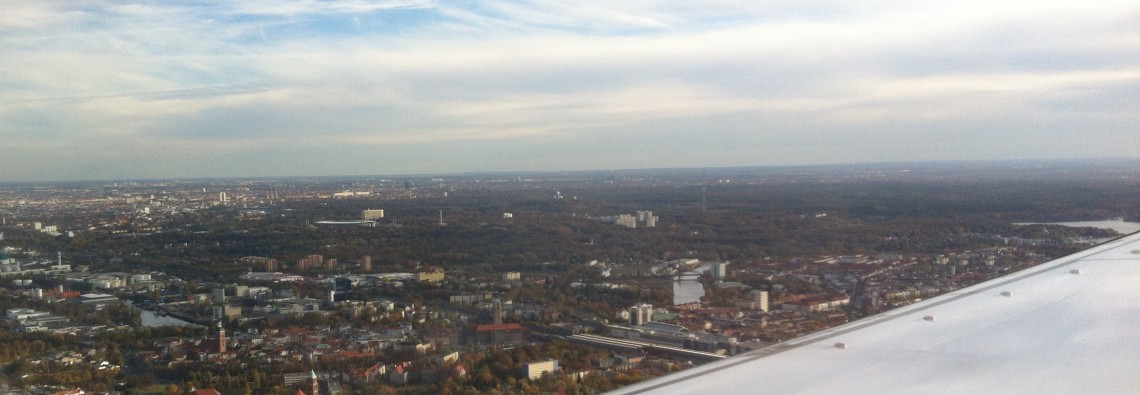 Landung in Berlin