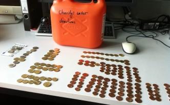 Sponsoring meiner Studierenden für Charity: Water