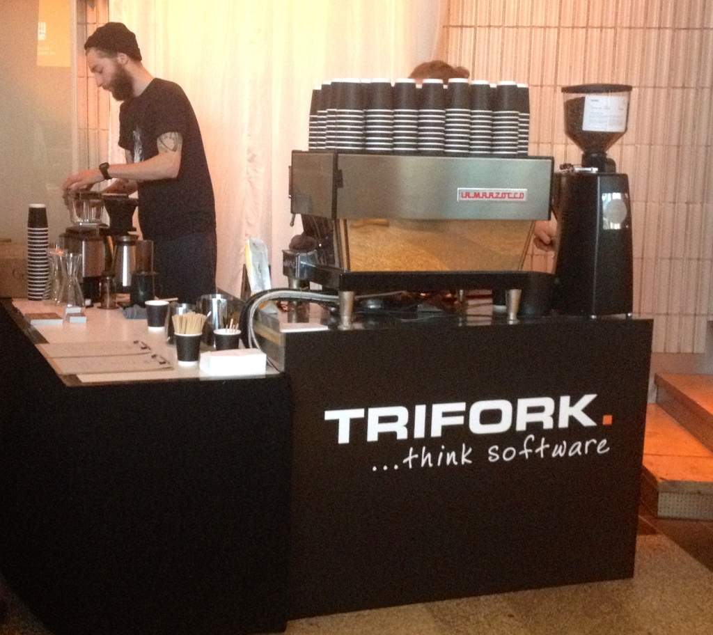 The Barn coffee at the GotoCon 2014