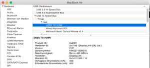 About my Mac for Cable Matters USB to DVI